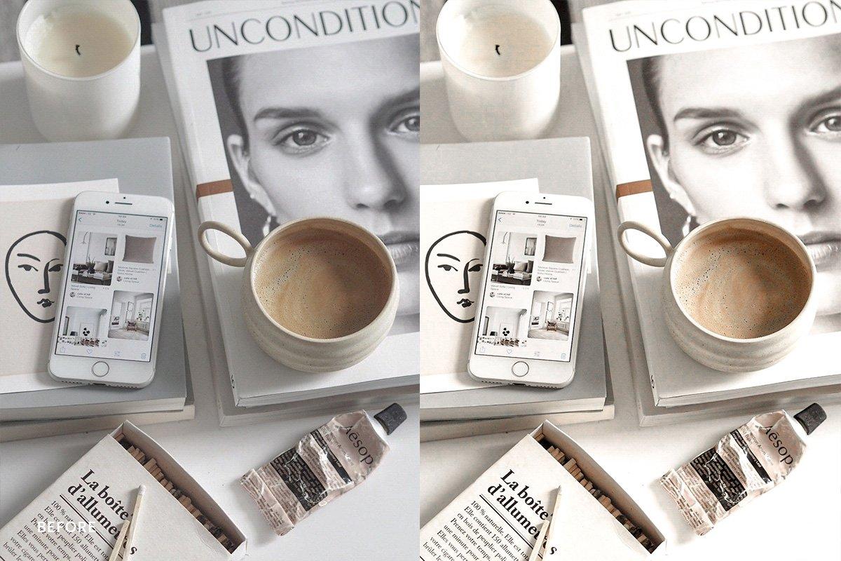 Presets Lightroom Mobile – Lightroom Preset Vanilla Creamy (DNG)