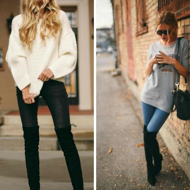 Moda, dicas de moda, botas, botas over the knee, como usar botas, como usar botas over the knee, dicas de lojas, acessórios de moda, moda feminina, moda 2018,