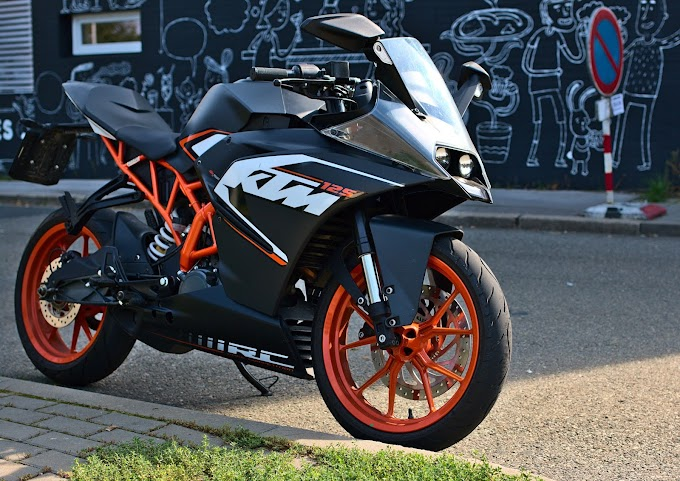 KTM RC 125 Price, Mileage, Specifications, Colors, Top Speed and Servicing Periods