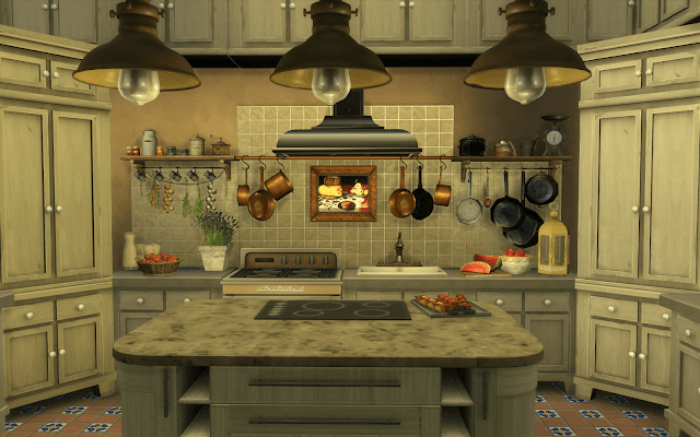 morocco kitchen sims 4
