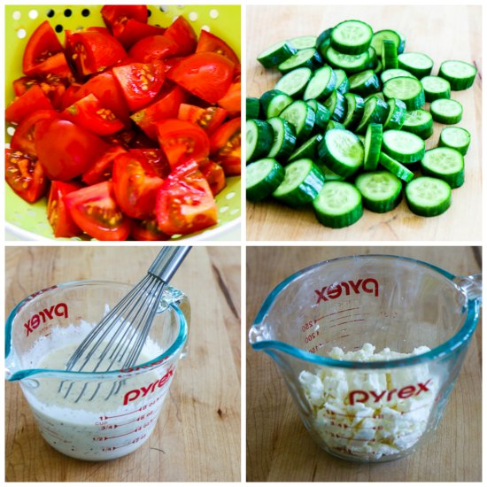 Easy Summer Lunch Salad found on KalynsKitchen.com