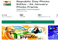 DOWNLOAD REPUBLIC DAY PHOTO EDITOR APP