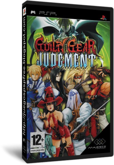 Guilty Gear Judgment [Full] [Ingles] [PSP] [FS]