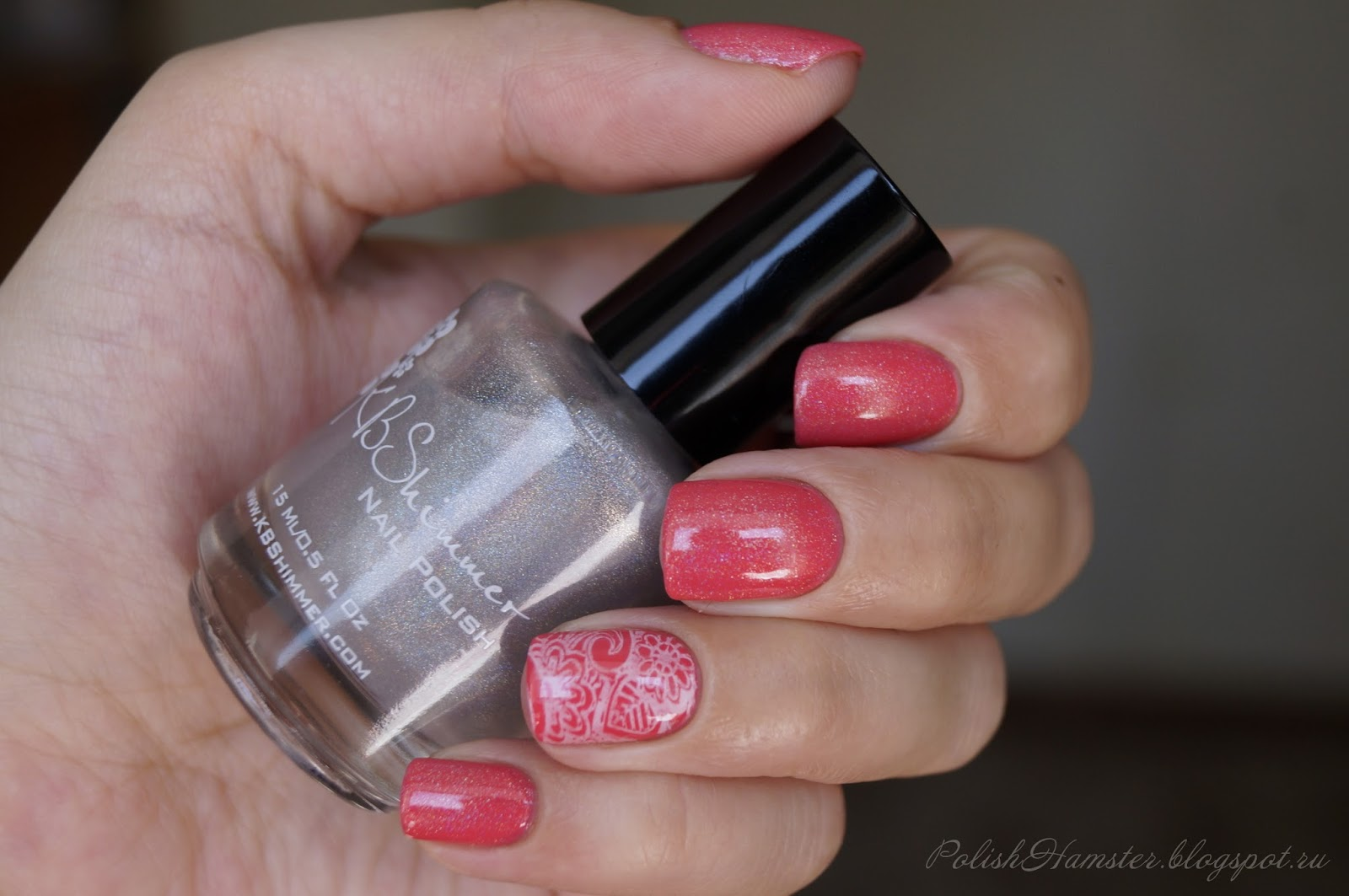 "KIKO 360 ""Strawberry pink"" и KBShimmer ""Prism break"""