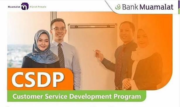 Lowongan Kerja Customer Service Devlopment Program (CSDP) Penempatan Serang dan Cilegon