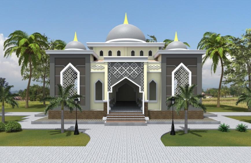 53 Model Desain Masjid Minimalis Modern Unik Terbaru 2018 Ndesain