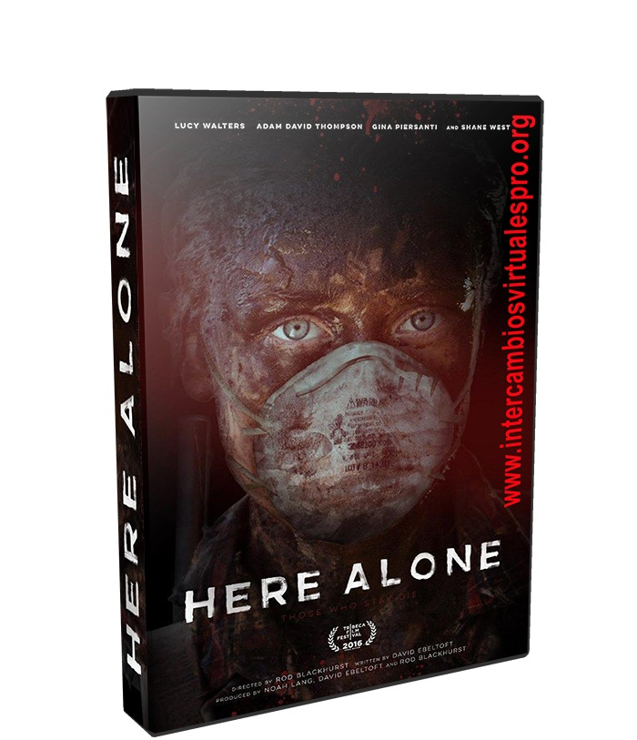 Here Alone poster box cover