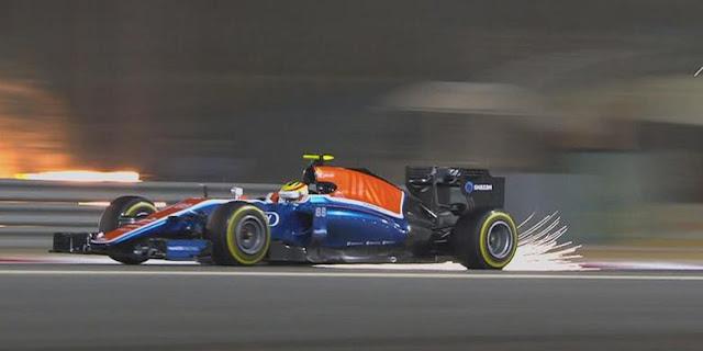 Hasil Balapan GP F1 Bahrain 2016 - Rio Haryanto