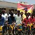 राजगढ़ में 97 विद्यार्थीयों को वितिरित की निःशुल्क साइकिल