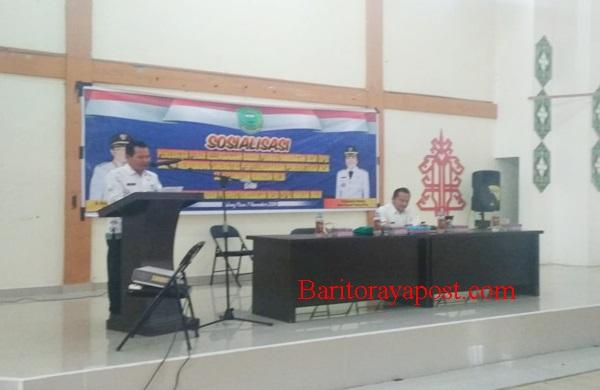 Anggota BPD Hanjak Maju Resmi Dilantik