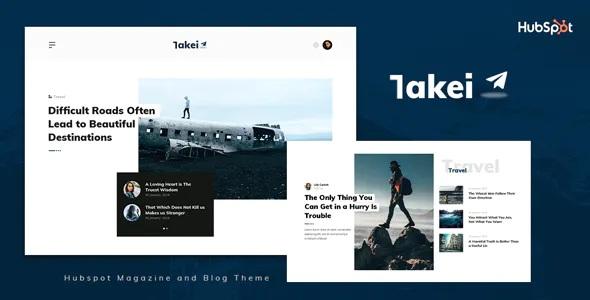 Best Blog and Magazine HubSpot Theme