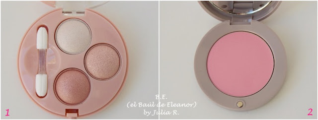 Smoky Eyes y colorete Blush Exclusif Bourjois