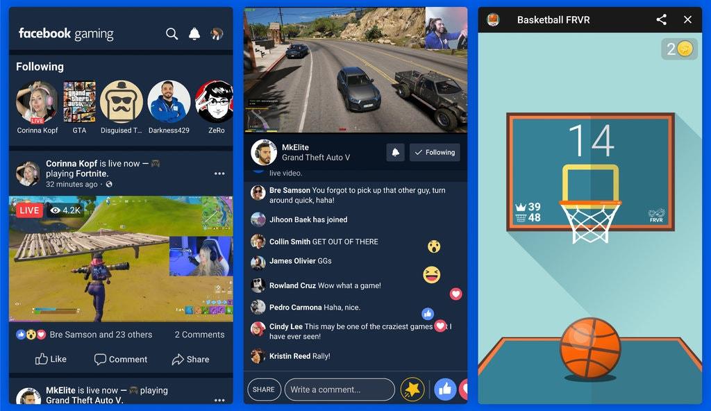 فيس بوك ستطلق تطبيق مستقل خاص بالبث المباشر لألعاب الموبايل