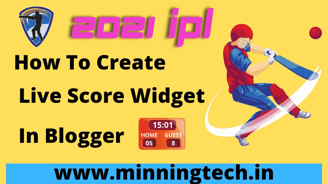 Live Cricket Score Widget