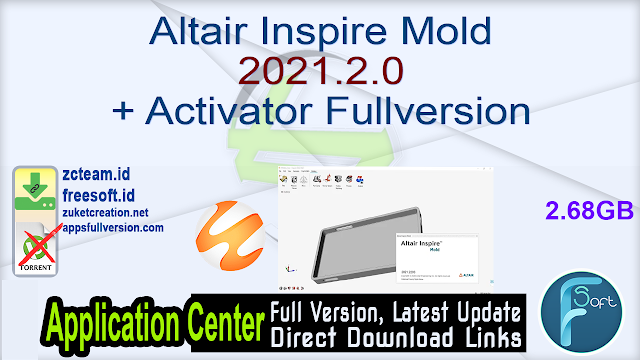 Altair Inspire Mold 2021.2.0 + Activator Fullversion
