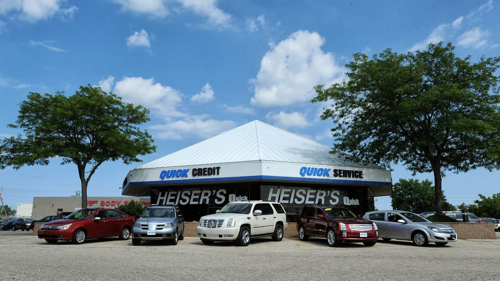 North Point Ford >> Heiser S Story