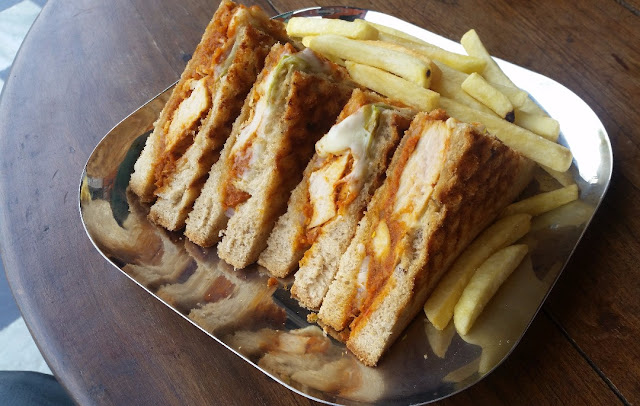 Bhuna Chicken Sandwich