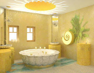 Элитный дизайн ванной комнаты Волгоград - подбор цветовой гаммы