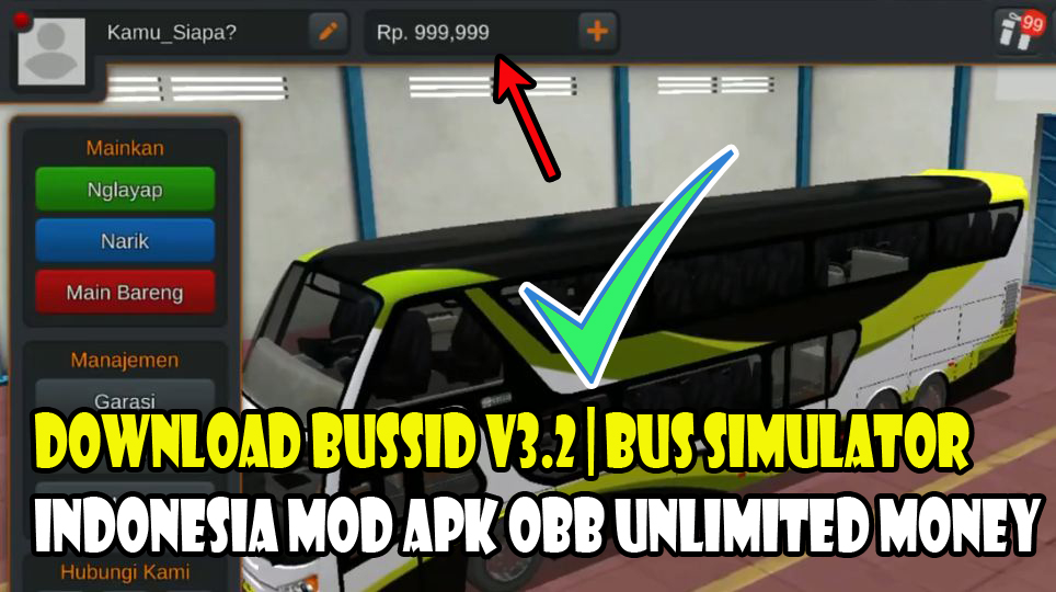 Download Bussid V3 2 Bus Simulator Indonesia Mod Apk Obb Unlimited Money Speck Android