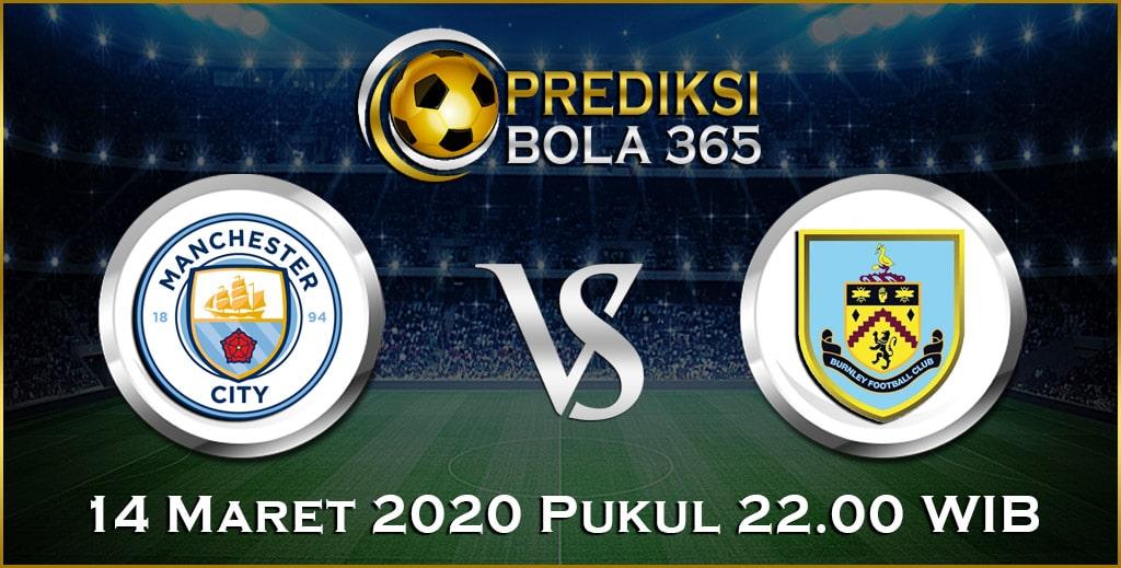 Prediksi Skor Bola Manchester City vs Burnley 14 Maret 2020