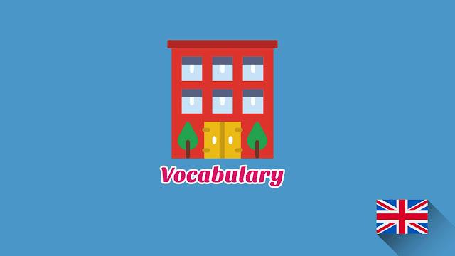 Kosakata Bahasa Inggris Apartemen Disertai Gambar, Audio Dan Pronunciation