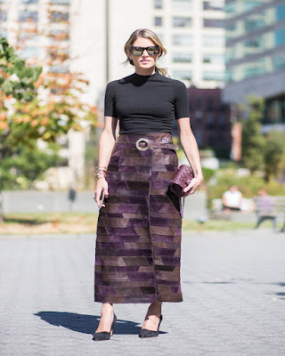spring outfits midi skirts fashionable