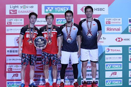 Hasil Final Japan Open 2019: Indonesia Juarai Ganda Putra