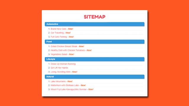Cara Membuat Sitemap Keren