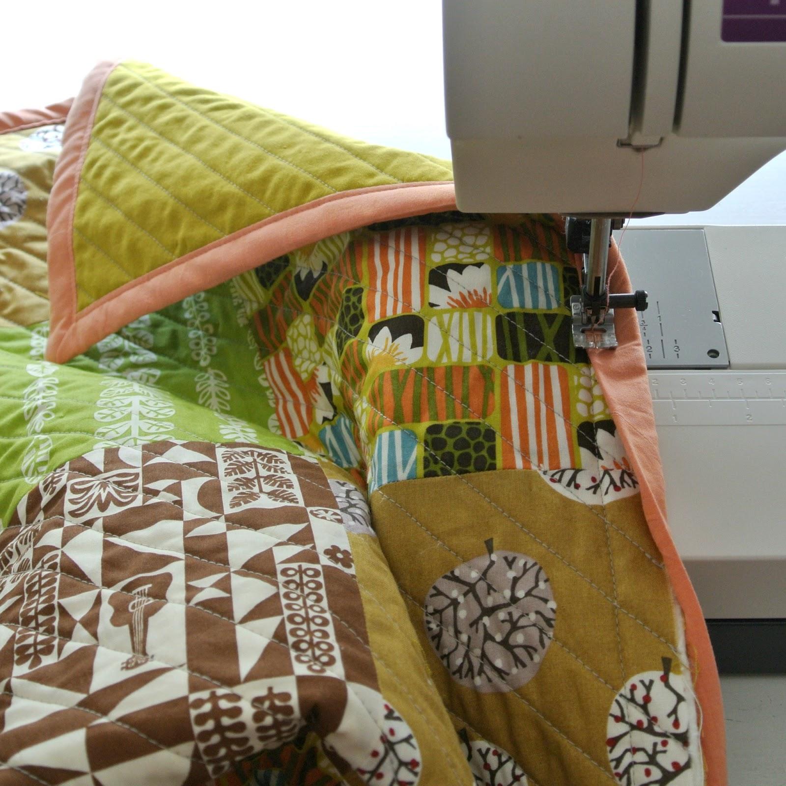Afwerken Van Een Quilt.By Miekk Easy Quilt Sewalong Dag 6 De Afwerking