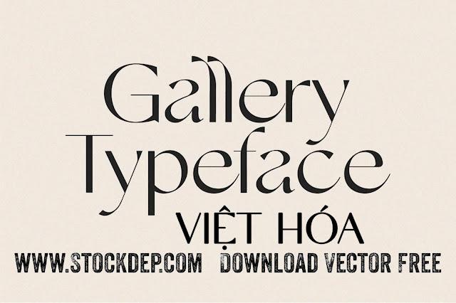 Download Gallery Modern Font Tiếng việt