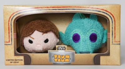 San Diego Comic-Con 2016 Exclusive Star Wars Han Solo & Greedo Tsum Tsum Plush Set by Disney