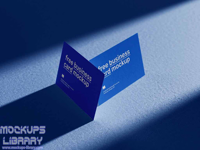 mockup business card free 1