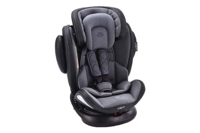 Cadeira de Carro Softfix 360º Multikids Baby até 36kg Cinza