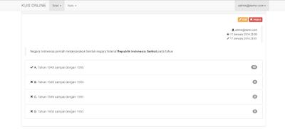 Download Aplikasi Kuis Online Menggunakan Laravel PHP