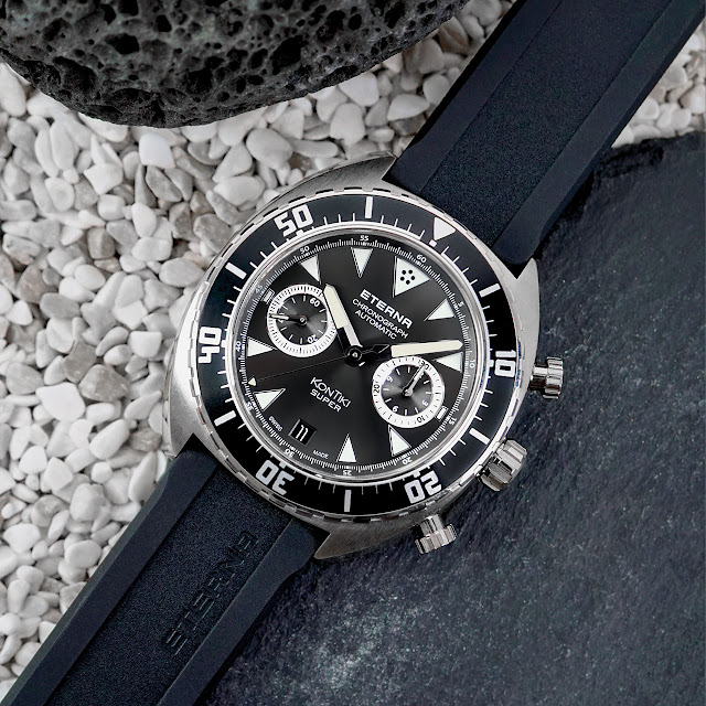 Eterna Super KonTiki Chronograph Mechanical Automatic Watch
