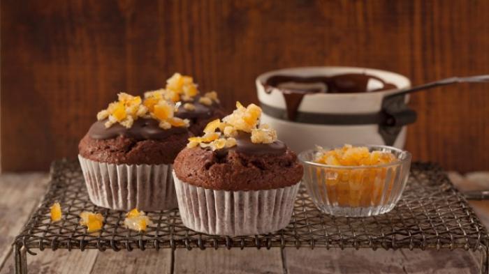 Cara Membuat Kue Muffin Coklat Keju Lembut - Cara Masak ...