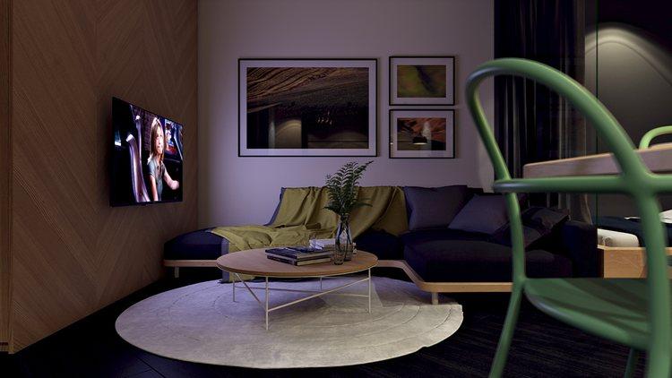 thiết kế nội thất chung cư độc đáo