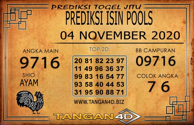 PREDIKSI TOGEL ISIN TANGAN4D 04 NOVEMBER 2020