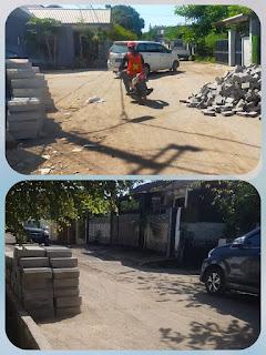 Proyek Pembangunan IPAL Jalan Kakatua Yang Menggunakan  Dana APBN Tahun 2019 Menuai Protes Warga