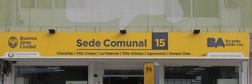 Sede Comunal 15