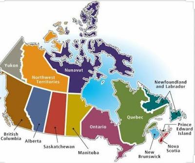 des programmes d'immigration instauré par les provinces du Canada