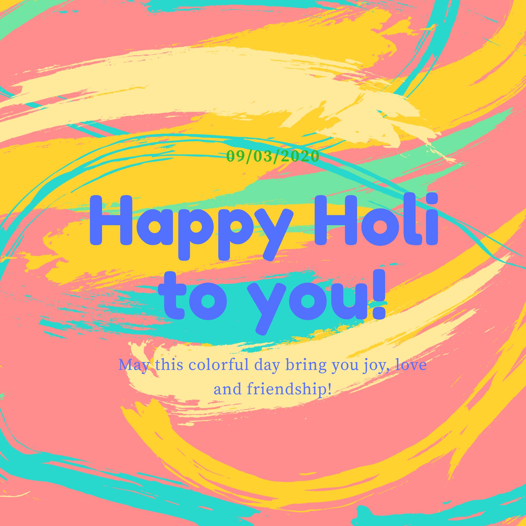 Happy Holi Wishes Images In English, Status, Photo, Massage,