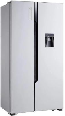 Amazon Basics 564 L Side-by-Side Refrigerator
