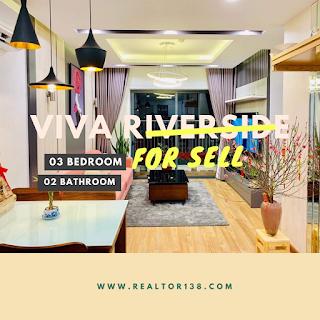 căn hộ 2 phòng ngủ chung cư viva riverside quận 6