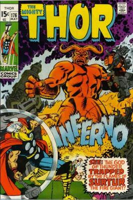 Thor #176, Surtur