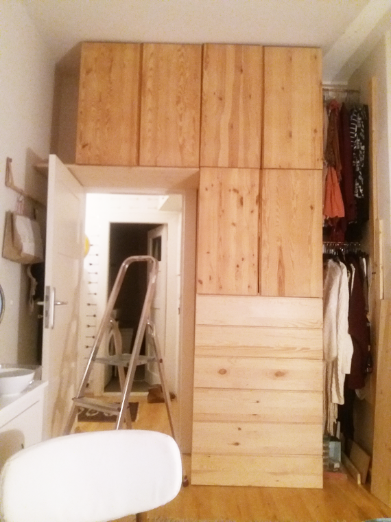 Make It Boho Diy Ikea Hack Kleiderschrank Aus Hellem Holz