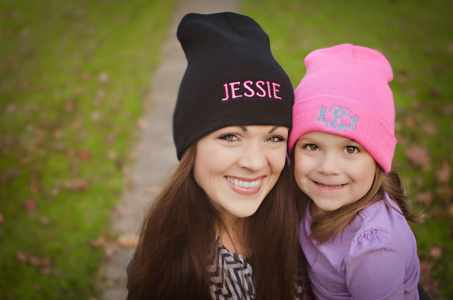 The F-Stop   FASHION  Monogrammed Beanies a6545b84af1