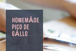 EASY BEST HOMEMADE PICO DE GALLO I EVER MADE