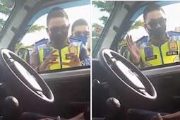 Viral! Mobil Pikap Batal Ditilang, Malah Dikawal 4 Polisi dan Diantar ke Tempat Tujuan