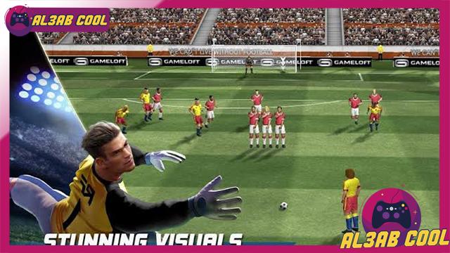 تحميل لعبة 2020 Real Football للأندرويد من الميديا فاير